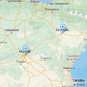 Viaje en autobús Madrid Zaragoza