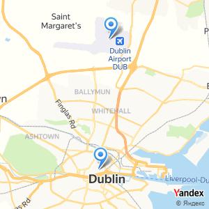 Voyage en bus Dublin Airport DUB Dublin