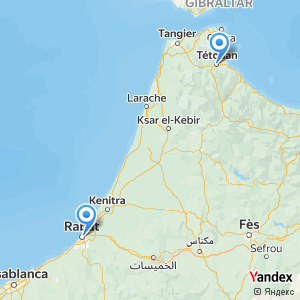 Voyage en bus Rabat Tétouan