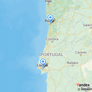 Voyage en bus Lisboa Porto