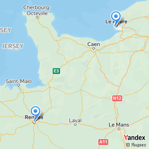 Voyage en bus Le Havre Rennes