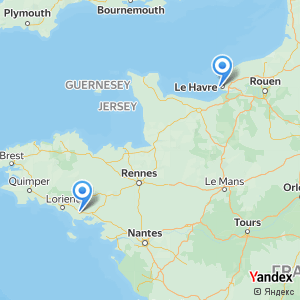 Voyage en bus Le Havre Auray