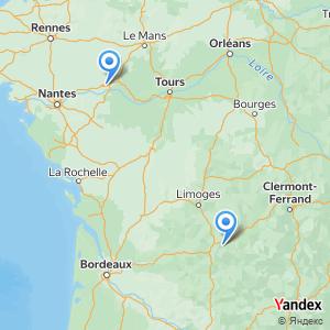 Voyage en bus Tulle Angers
