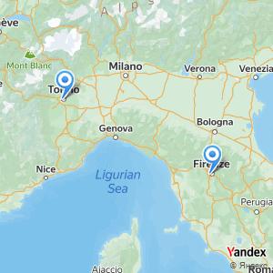 Viaggio in pullman Firenze Torino