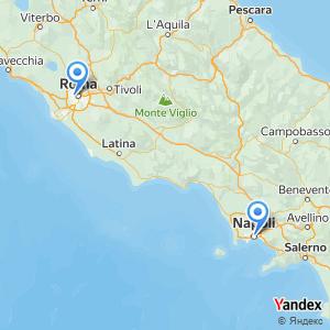 Viaggio in pullman Roma Napoli