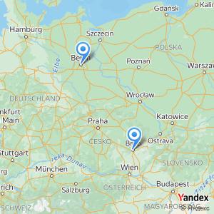Berlin Brno bus trip