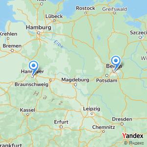 Voyage en bus Berlin Hanovre