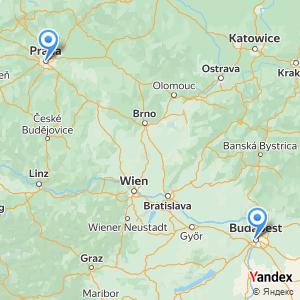 Voyage en bus Prague Budapest