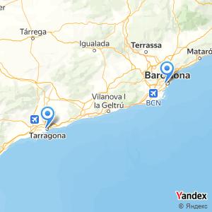 Viaje en autobús Barcelona Tarragona