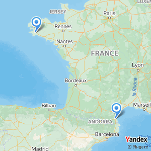Voyage en bus Perpignan Quimper