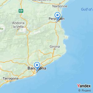Voyage en bus Perpignan Barcelone
