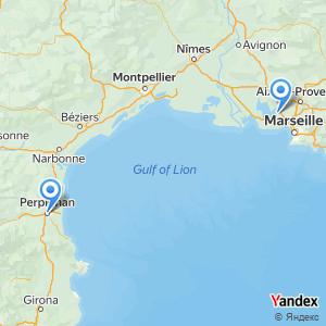 Voyage en bus Perpignan Marseille Aéroport MRS