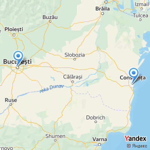 Voyage en bus Bucarest Constanta