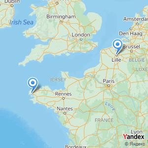 Voyage en bus Lille Brest