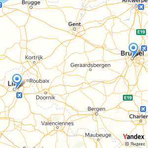 Voyage en bus Lille Bruxelles