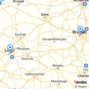 Voyage en bus Lille Brussels