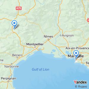 Voyage en bus Millau Marseille