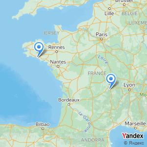 Voyage en bus Clermont-Ferrand Lorient