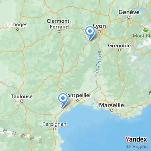 Voyage en bus Beziers Saint-Étienne