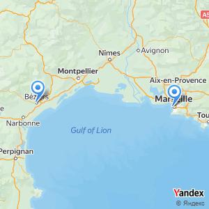 Voyage en bus Beziers Marseille
