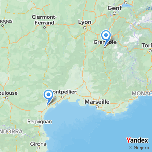 Voyage en bus Beziers Grenoble