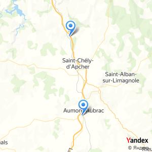 Voyage en bus Aumont Aubrac Saint Chély d'Apcher