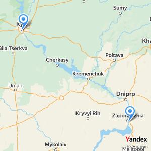 Київ ЗапоріжжяАвтобусні квитки