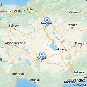 Ankara Konya Otobüs yolculuğu