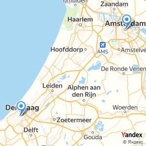 Voyage en bus La Haye Amsterdam