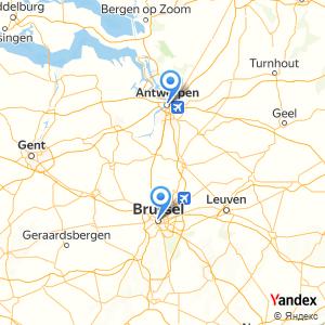 Voyage en bus Anvers Bruxelles