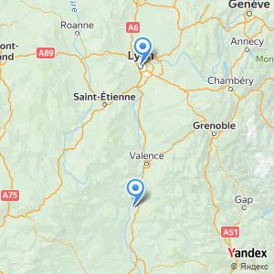 Voyage en bus Lyon Montélimar