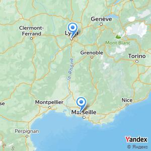 Voyage en bus Lyon Marseille Aéroport MRS
