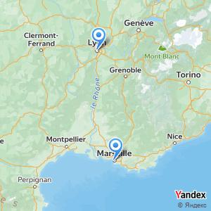 Trajet Lyon Marseille en covoiturage