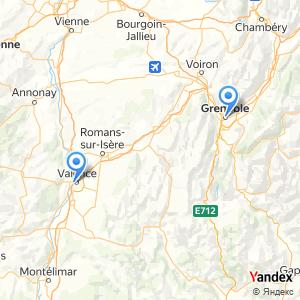 Voyage en bus Valence Grenoble