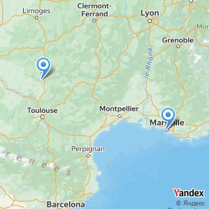 Voyage en bus Marseille Cahors