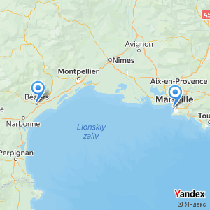 Voyage en bus Marseille Beziers