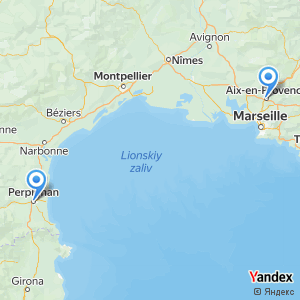 Voyage en bus Aix-en-Provence Perpignan