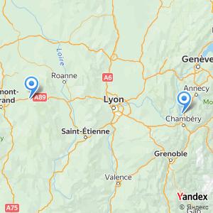 Voyage en bus Aix les Bains Thiers