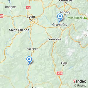 Voyage en bus Aix les Bains Montélimar