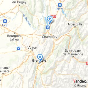 Voyage en bus Aix les Bains Grenoble