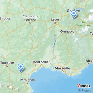 Voyage en bus Annecy Carcassonne