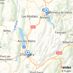 Voyage en bus Annecy Chambery