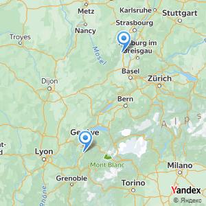 Voyage en bus Annecy Colmar