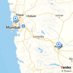 Pune Mumbai bus trip