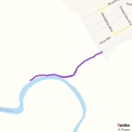 Воћарска улица на Yandex мапи