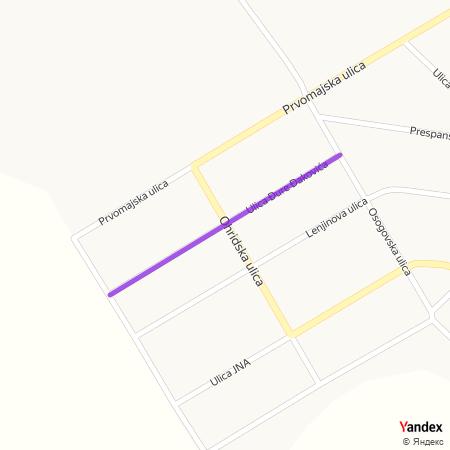 Ђуре Ђаковића на Yandex мапи