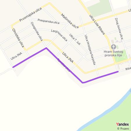 Тамишка улица на Yandex мапи