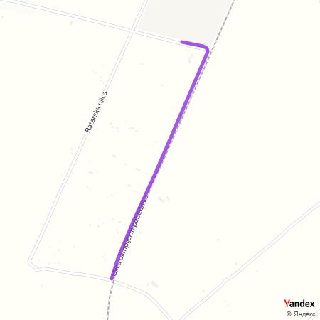 Улица олимпијских победника на Yandex мапи