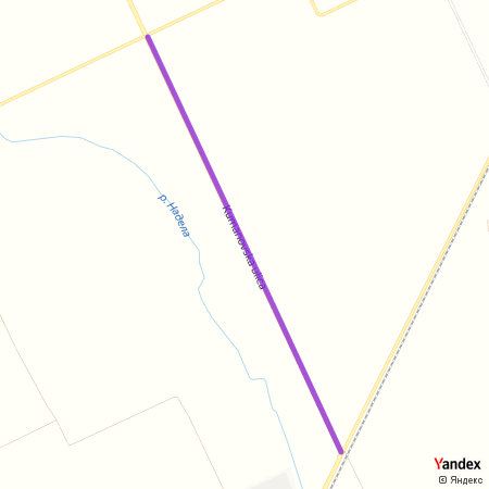 Кумановска улица на Yandex мапи