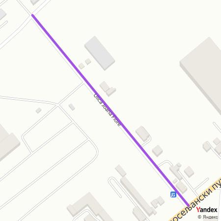 Улица Јоана Флоре на Yandex мапи